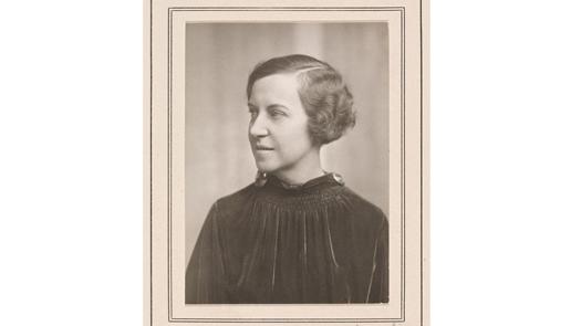 portrait of woman light background