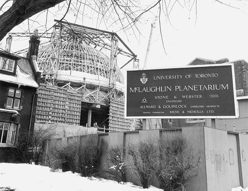 planetarium under construction
