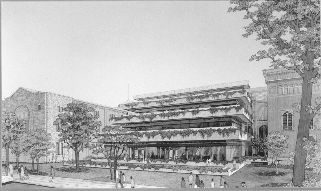 Terrace Galleries facing Bloor St