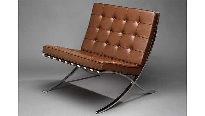 Photo of a leather chair