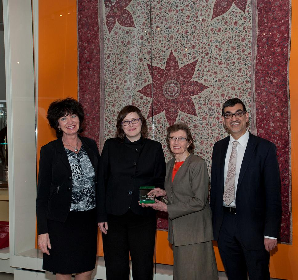 Long-standing ROM volunteer, Patricia Harris, was recognized with the Manulife Volunteer Award