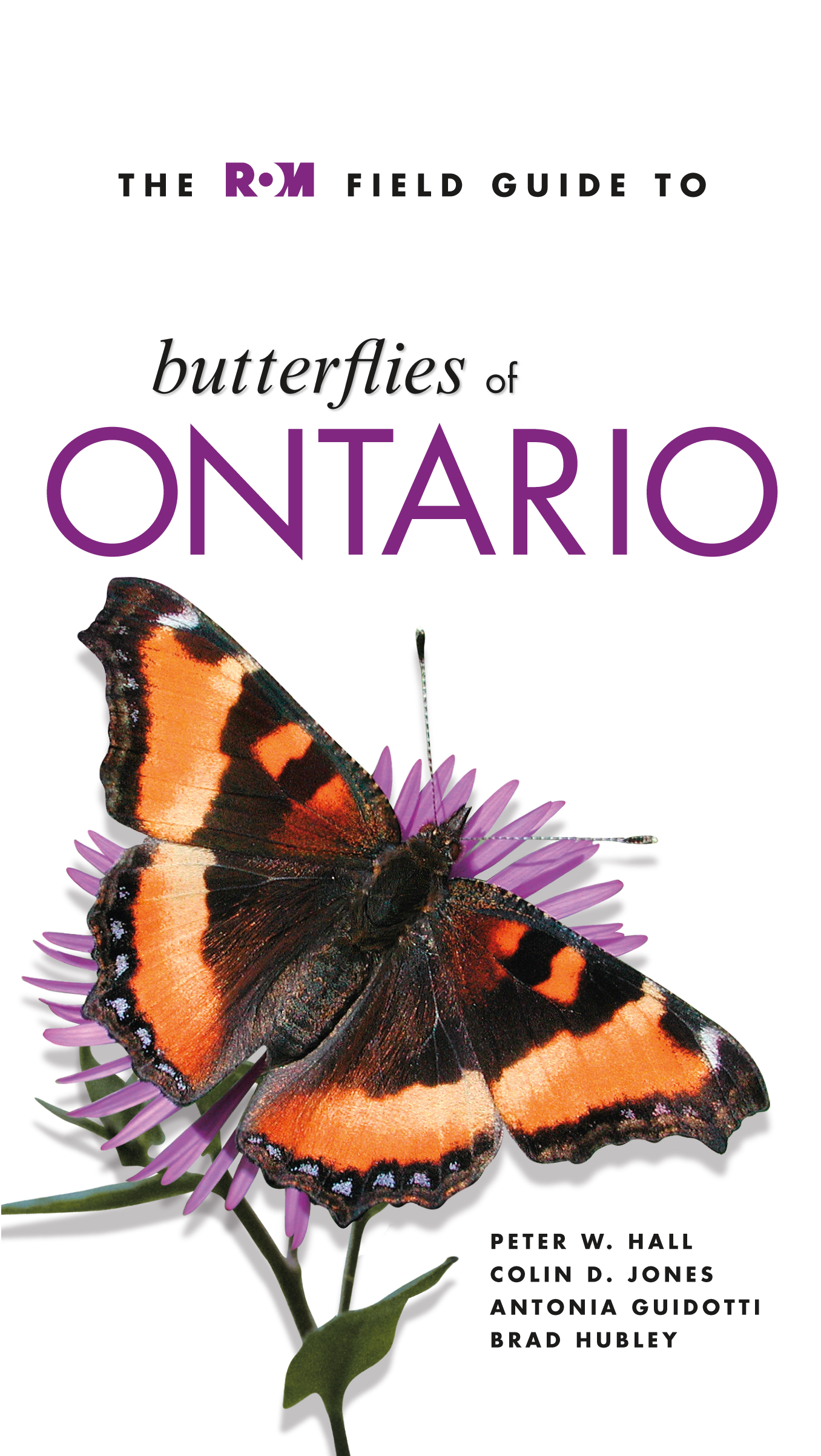 Butterflies of Ontario, Cover Image