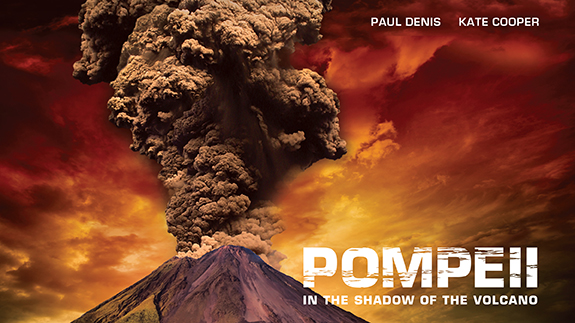 Pompeii In the Shadow of the Volcano (Cover Image)
