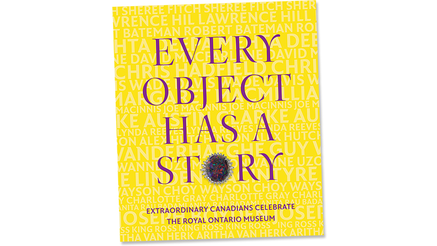 Every Object Has a Story (Book Cover)