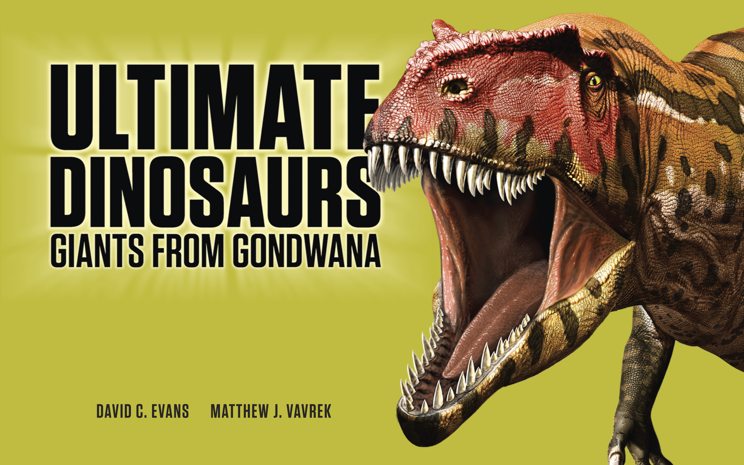 Book cover: Ultimate Dinosaur: Giants from Gondwana
