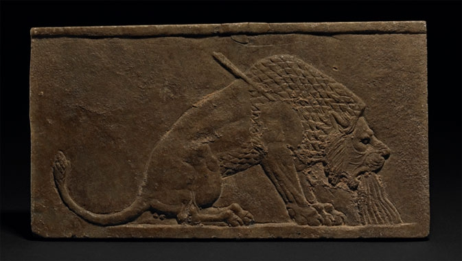 The Dying Lion, from Nineveh, North Palace, c. 645–640 BCE.