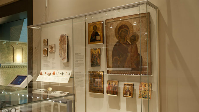 Orthodox Byzantine icons.