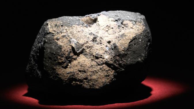 Exceptionnelle météorite du lac Tagish