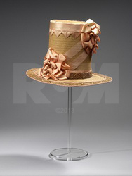An 18th century straw hat