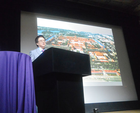 Dr. Shen at Member Lecture