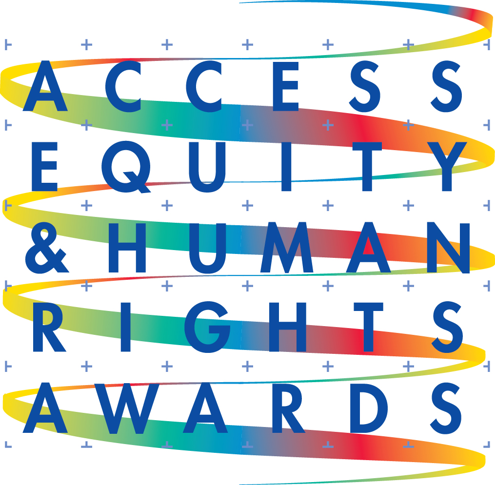 Logo for the City of Toronto Access Equity and Human Rights Awards