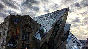 Toronto cityscape with the Royal Ontario Museum in the foreground. Photo by: Anatoli Zaremba