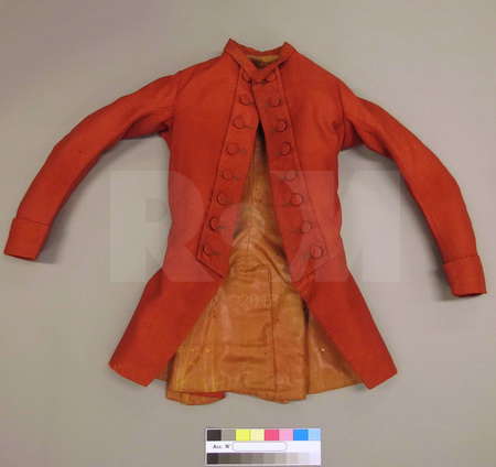 An 18th century riding jacket