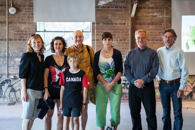 A group photo of ROM volunteers and contributors to the Toronto Biodiversity series
