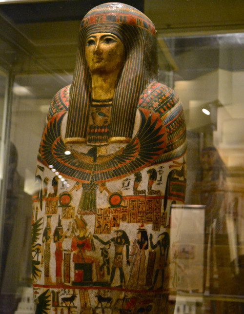 Djedmaatesankh's cartonnage coffin