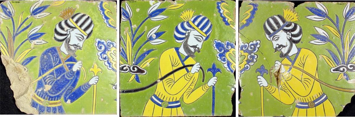 Safavid Tile Project II: Rebuilding the Friezes | Royal Ontario Museum
