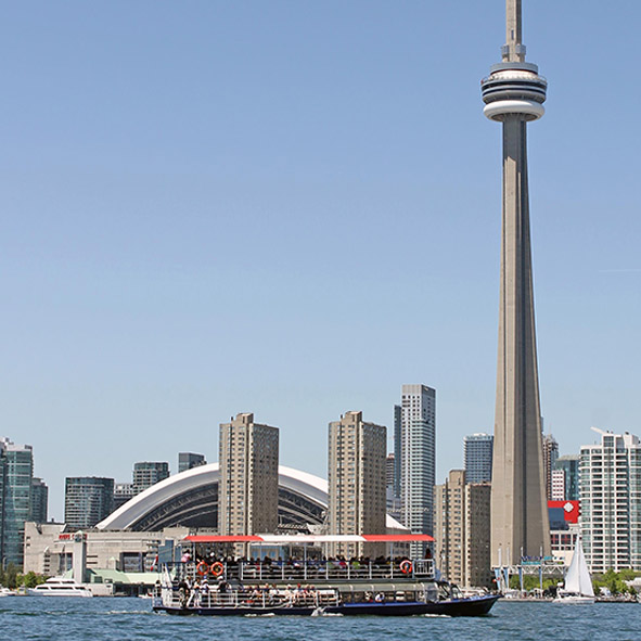 City Sightseeing Toronto harbour cruise.