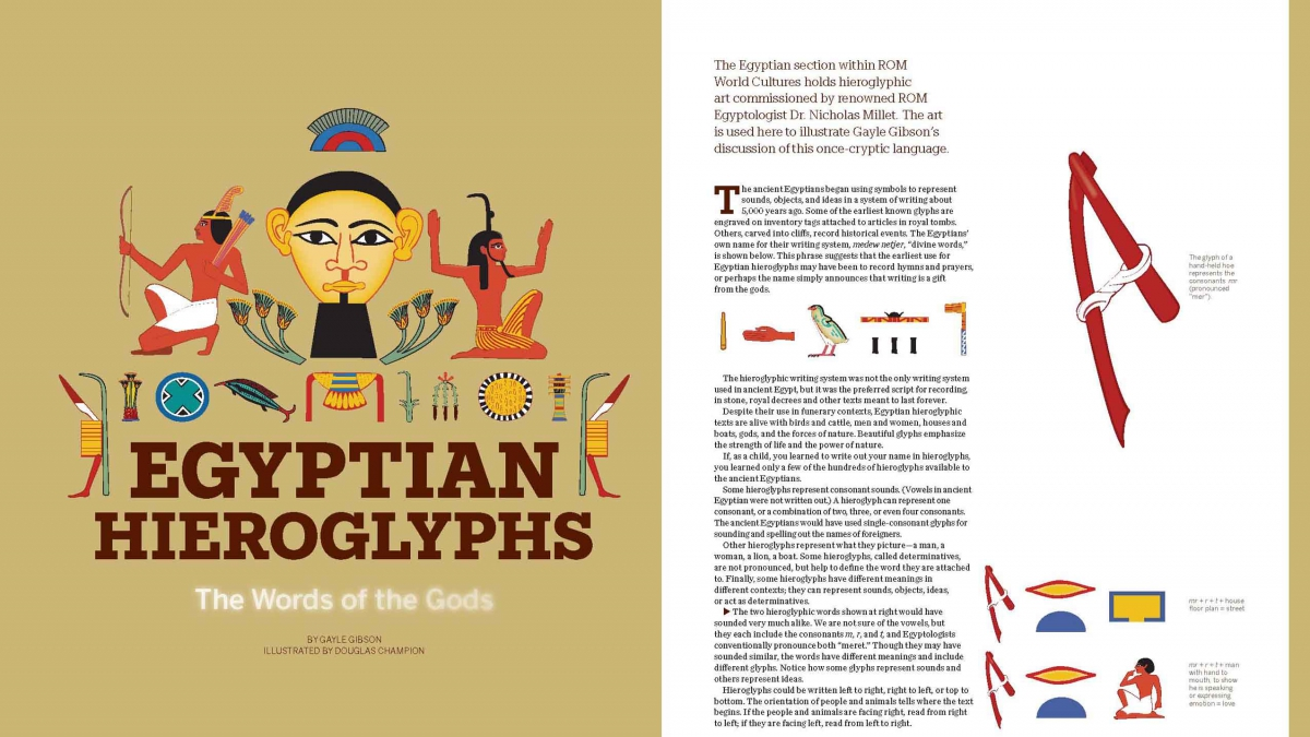 Classroom Design Games ~ Egyptian hieroglyphs royal ontario museum