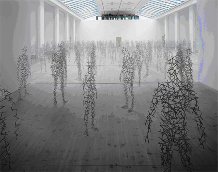 Antony Gormley Installation