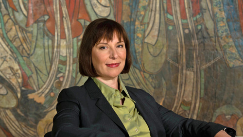 Janet Carding, Director & CEO of the ROM