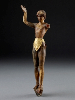 Chryselephantine statuette of a 'Boy God', (c) Ashmolean Museum, Oxford
