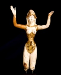 The ROM's 'Minoan Goddess' (931.21.1)