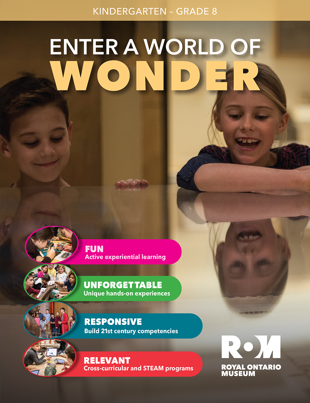 Elementary Learning Flyer Cover