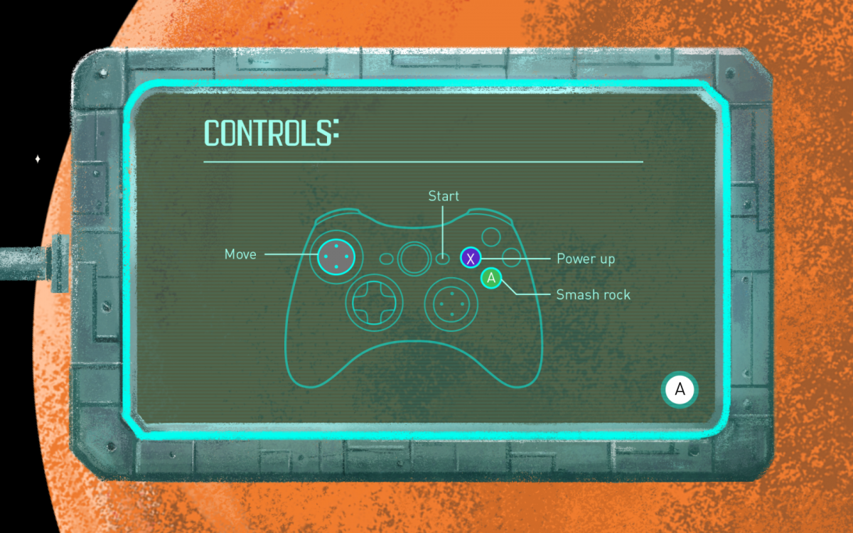 rogue rovers game controls