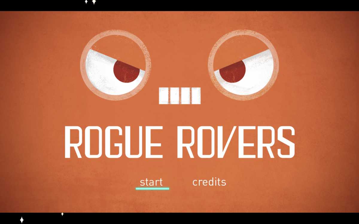 rogue rovers title screen