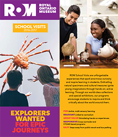 School Visit Brochure Cover