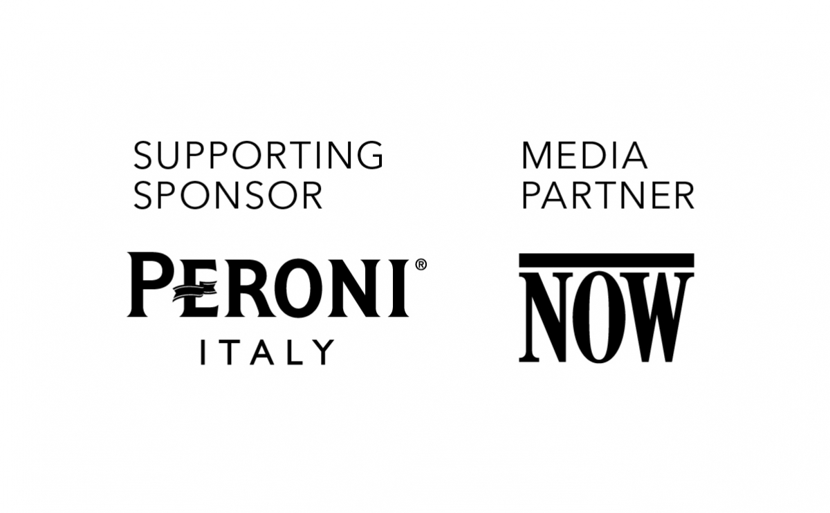 Supporting Sponsor: Peroni Italy; Media Partner: Now