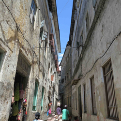 The heart of stone town