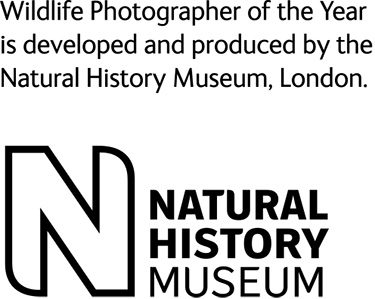 Wildlife Photographer of the Year is developed and produced by the Natural History Museum, London.