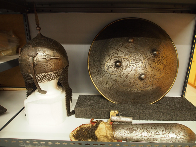 Persian Armour in ROM storage facilities