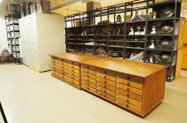 ROM collections storage facilities