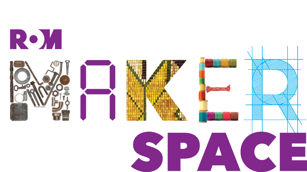 Logo for ROM Makerspace