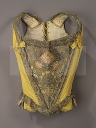 An 18th century girl's bodice
