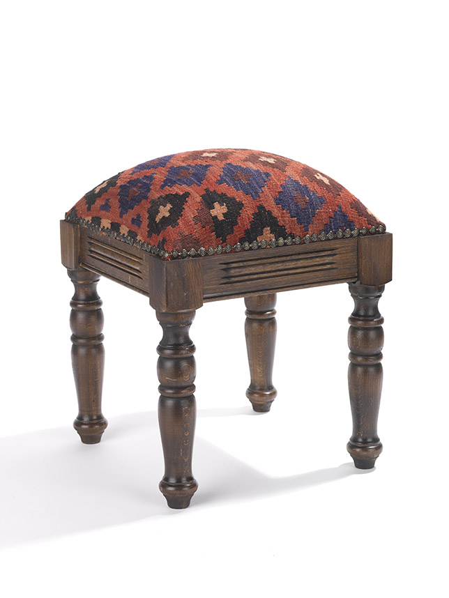 Hand-Crafted Footstool
