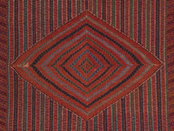 Photo of a colourful patterned textile