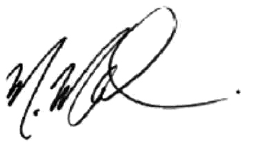 Photo of a signature