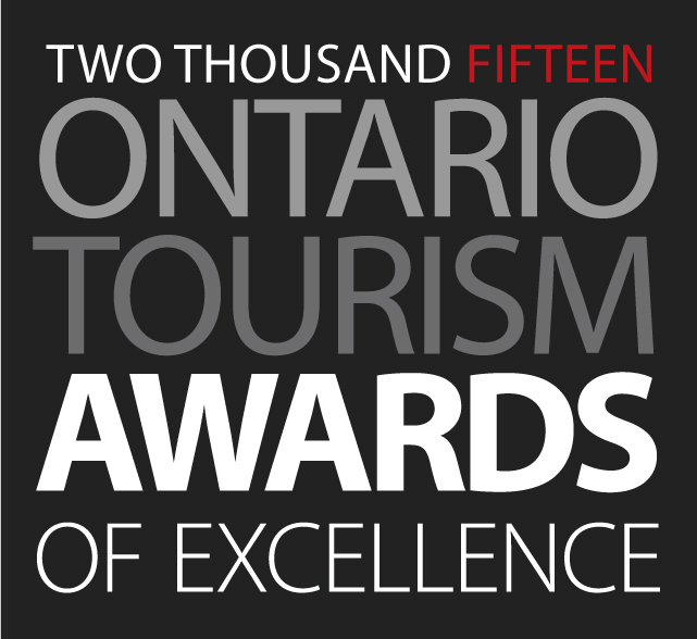 Logo of the 2015 Ontario Tourism Awards of Excellence