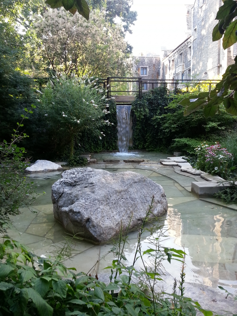 Garden surrounding the ROM