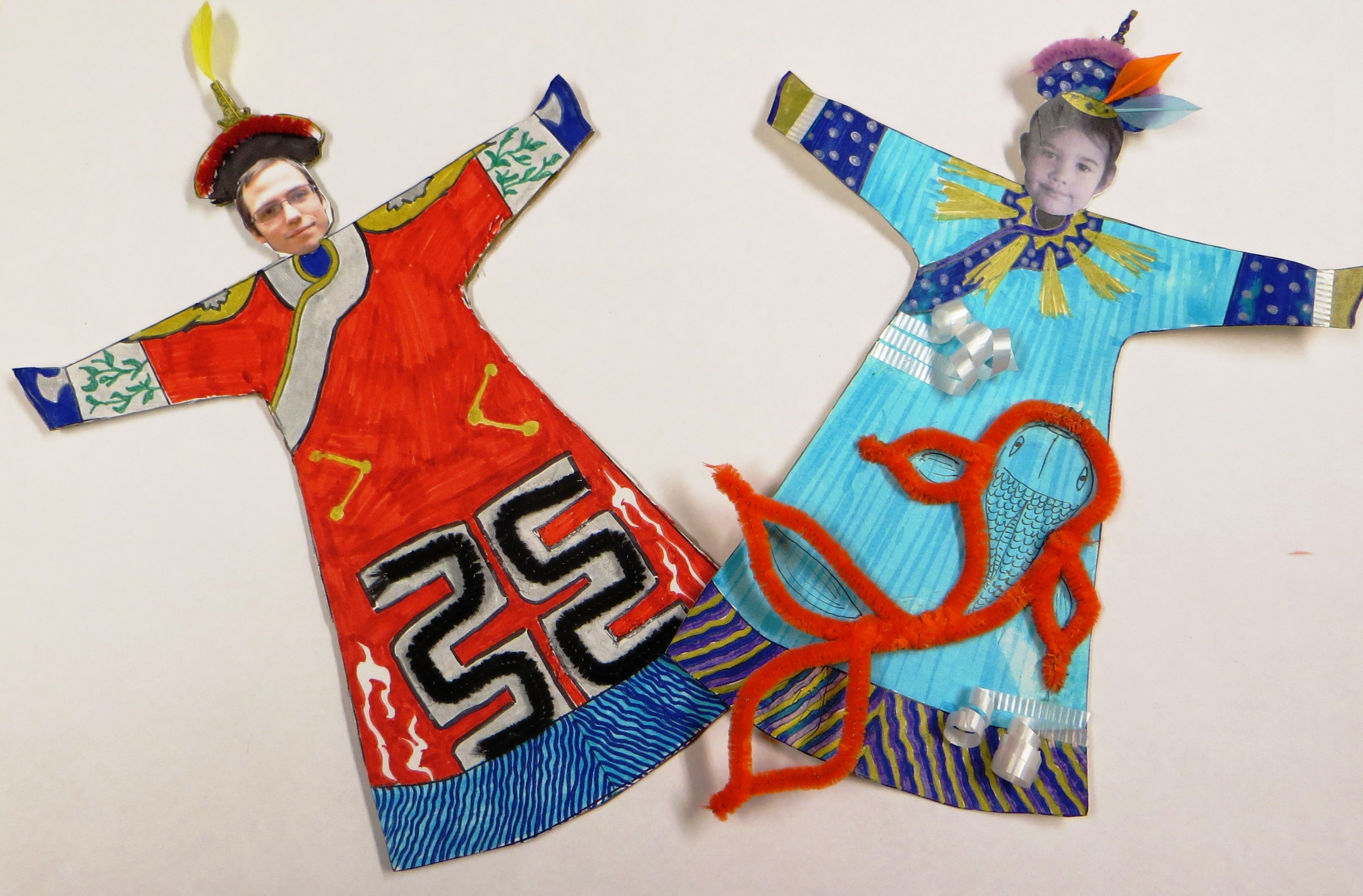 04eafd8dd7883 Activity: Make an Imperial Court Robe | Royal Ontario Museum