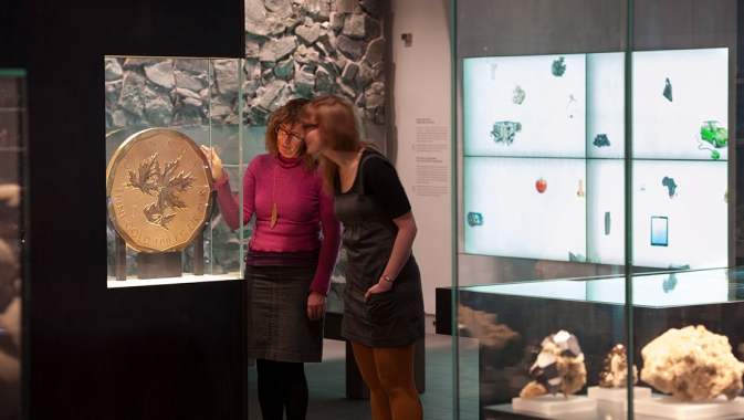Teck Suite of Galleries: Earth's Treasures
