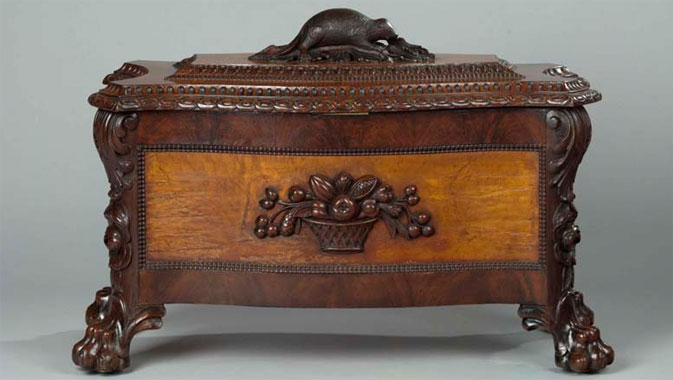 Trace the emergence of Canadian style in furniture and other decorative arts.
