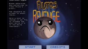 pluto's revenge title screen