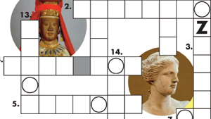 Gods and Goddesses Crossword Puzzle