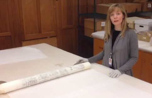 New World Archaeology Technician April Hawkins
