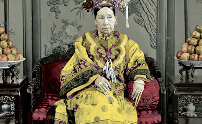 Empress Dowager Cixi, Image by Jung Chang