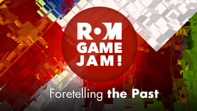 Logo for ROM Game Jam